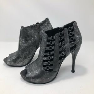 BCBGeneration Sexy Grunge Rocket Open Toe Booties